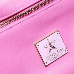 Jeffree Star Bags - Jeffree Star baby pink make up bag